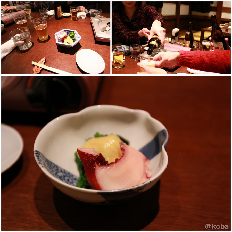 06春香和え(タコと菜の花とワカメの酢味噌和え)
