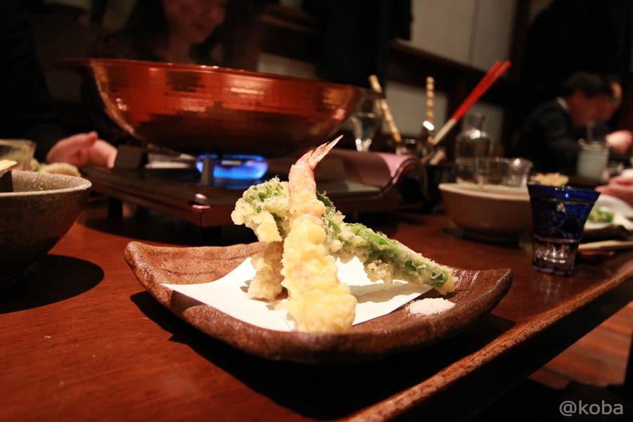 21天ぷら (海老・蓮根・菜の花)