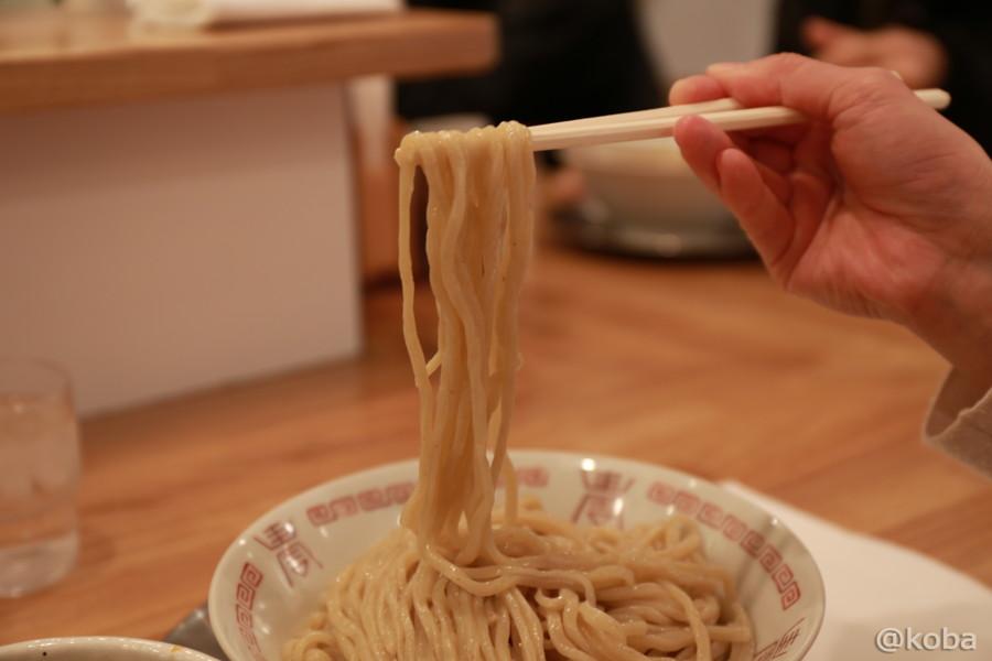 12中太麺│麺や 七彩 (めんやしちさい)│喜多方ラーメン│煮干し│東京都中央区八丁堀│こばブログ