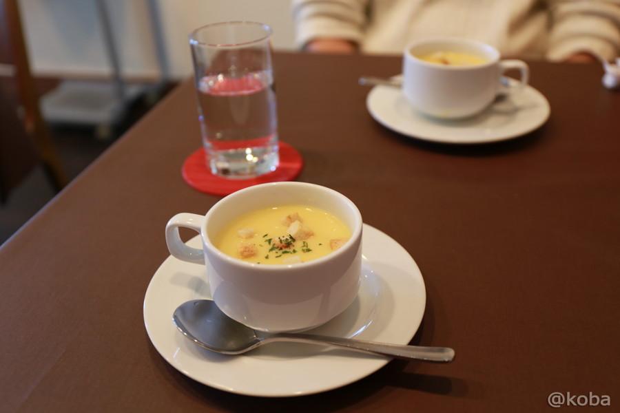04コーンスープ 立石 洋食工房ヒロ
