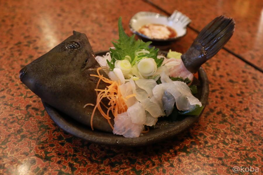 04カワハギ刺身 人気メニュー_koba-photo-blog