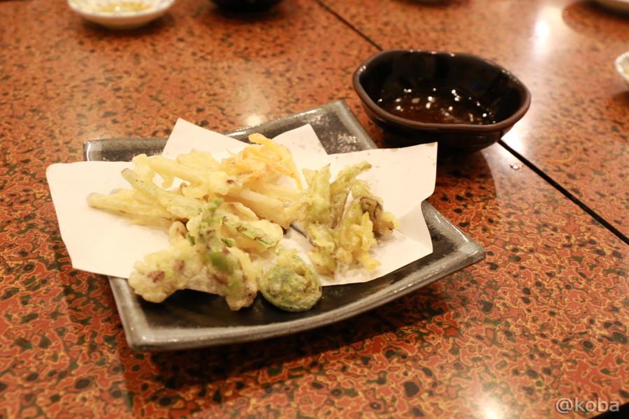 15山菜の天ぷら