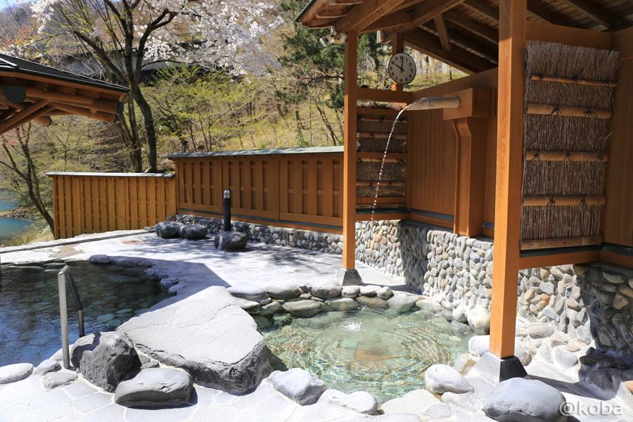 09外風呂 四万清流の湯
