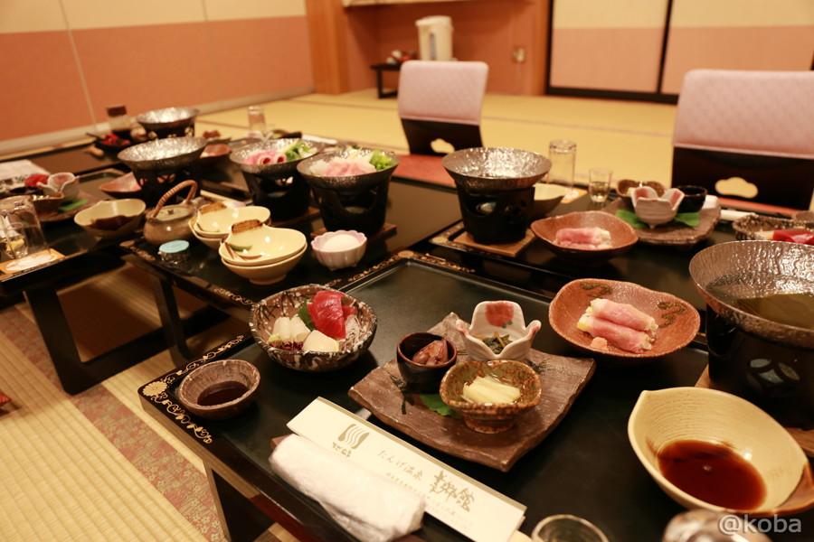 01たんげ温泉 美郷館 夕食