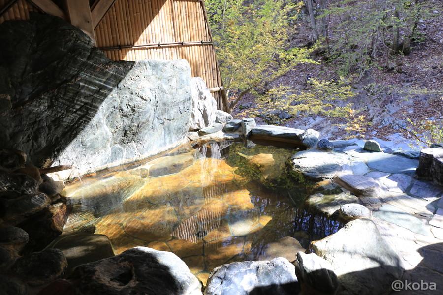 24美郷館 貸切風呂 宝泉の湯 岩風呂