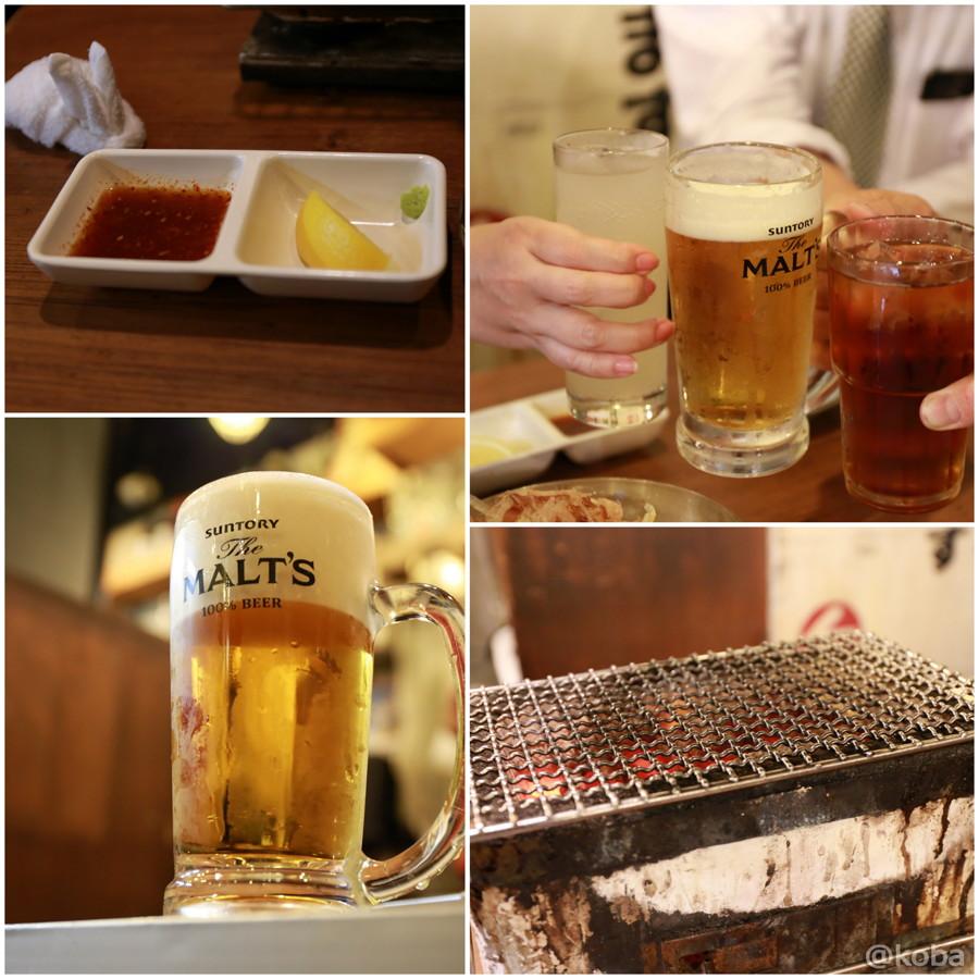 14生ビール モルツで乾杯 浅草橋 日本焼肉党