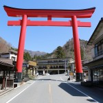 群馬県「榛名神社」4月の写真