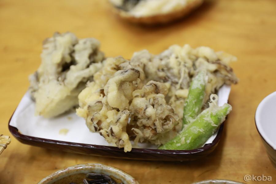 大ぶりの舞茸3ヶ ぬるかった天ぷら