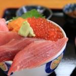 銚子「三色丼☆1,300円!」浜めし