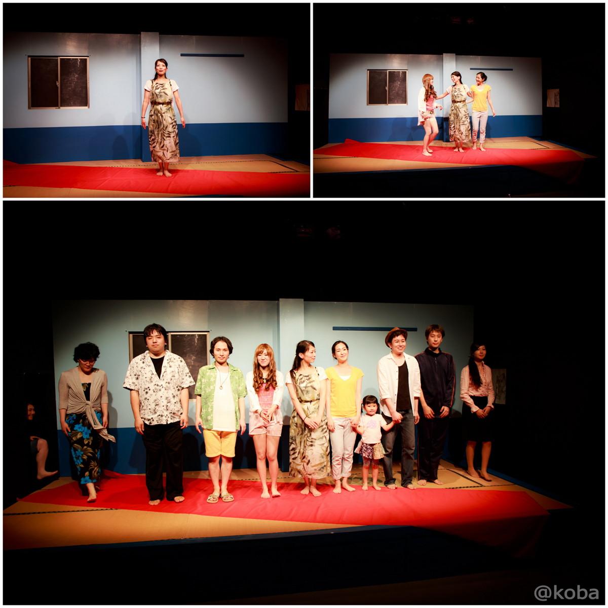 劇団蝶能力第8回公演「初心者マークの外し方」 舞台稽古(ゲネプロ)撮影