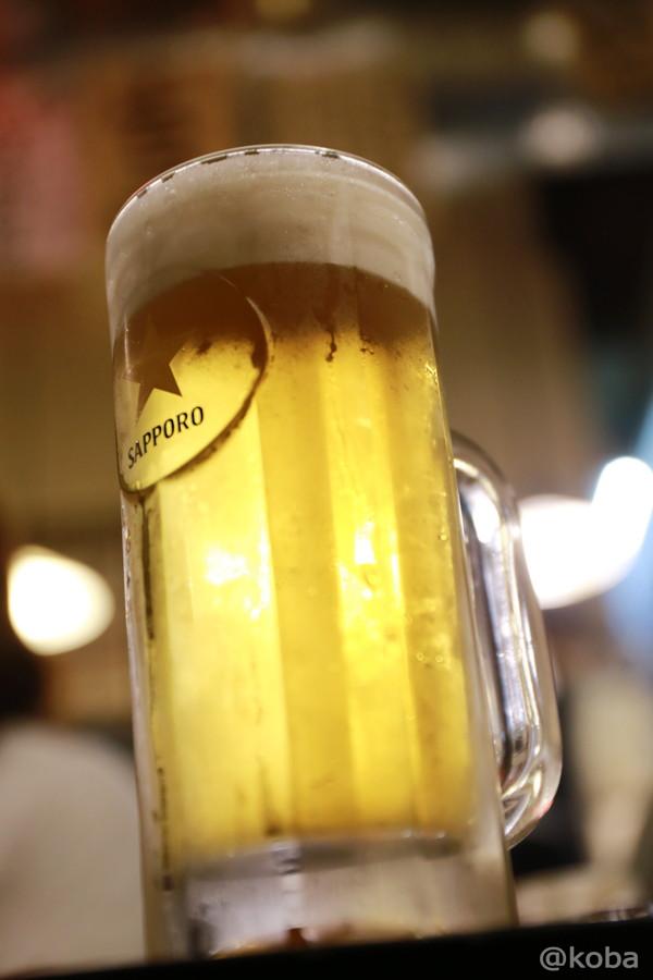 18サッポロ生ビール 新小岩 ホルモン平田