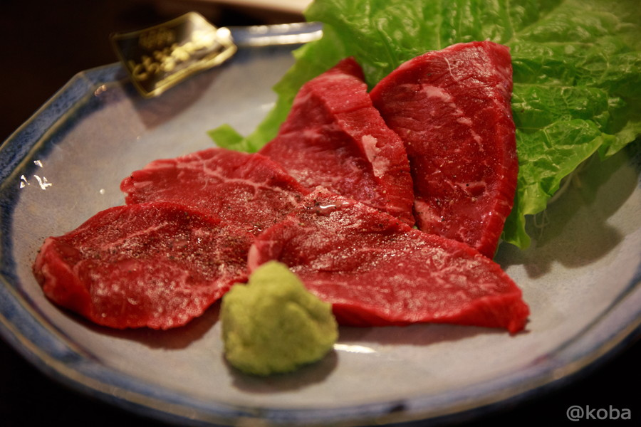 13栃木牛 ランボソ (お尻の肉)  焼肉市場 小岩
