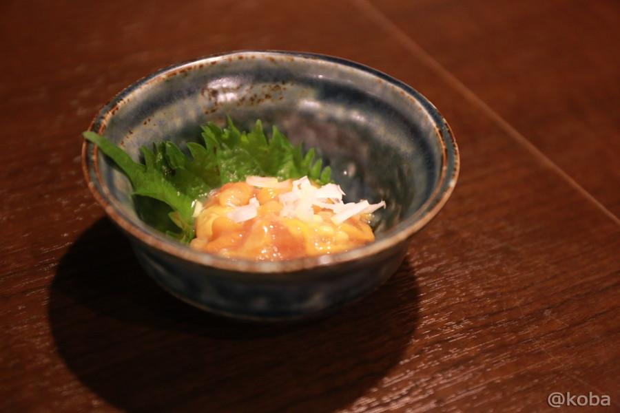 08ほやの塩辛 250円 小岩 六人衆 日本酒のお店_koba-photo-blog