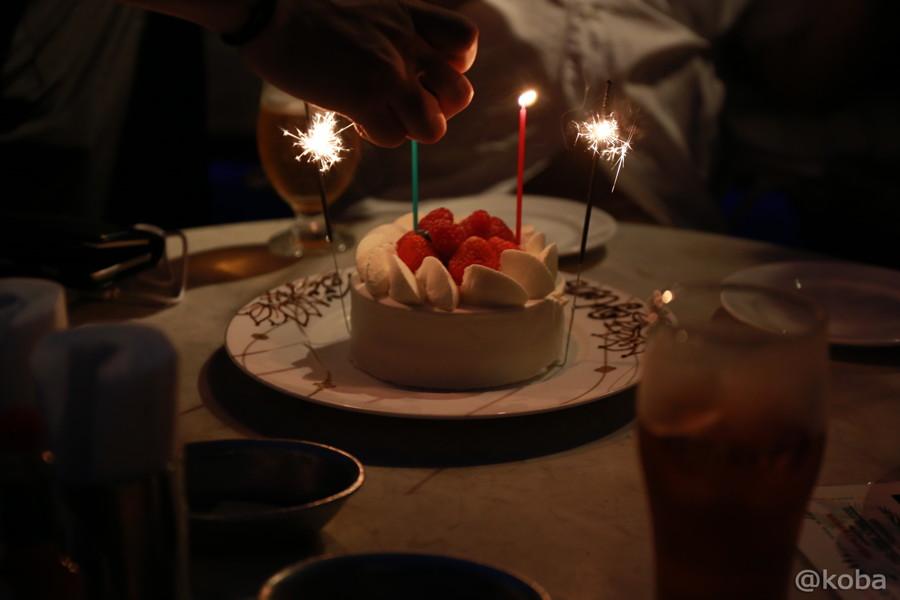11錦糸町 レストラン レジーナ 誕生日ケーキ