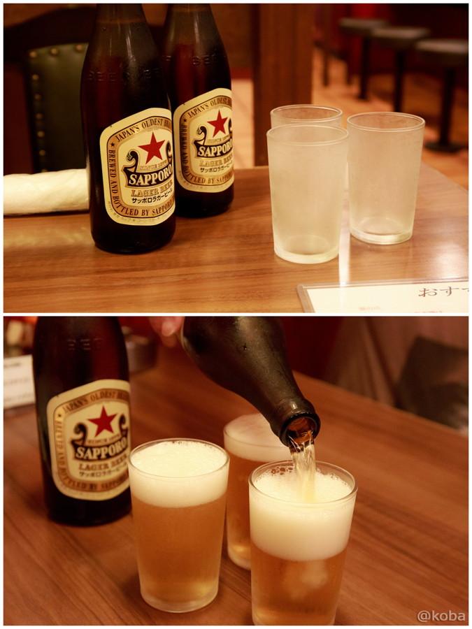 08新小岩 大三元 サッポロラガー 瓶ビール