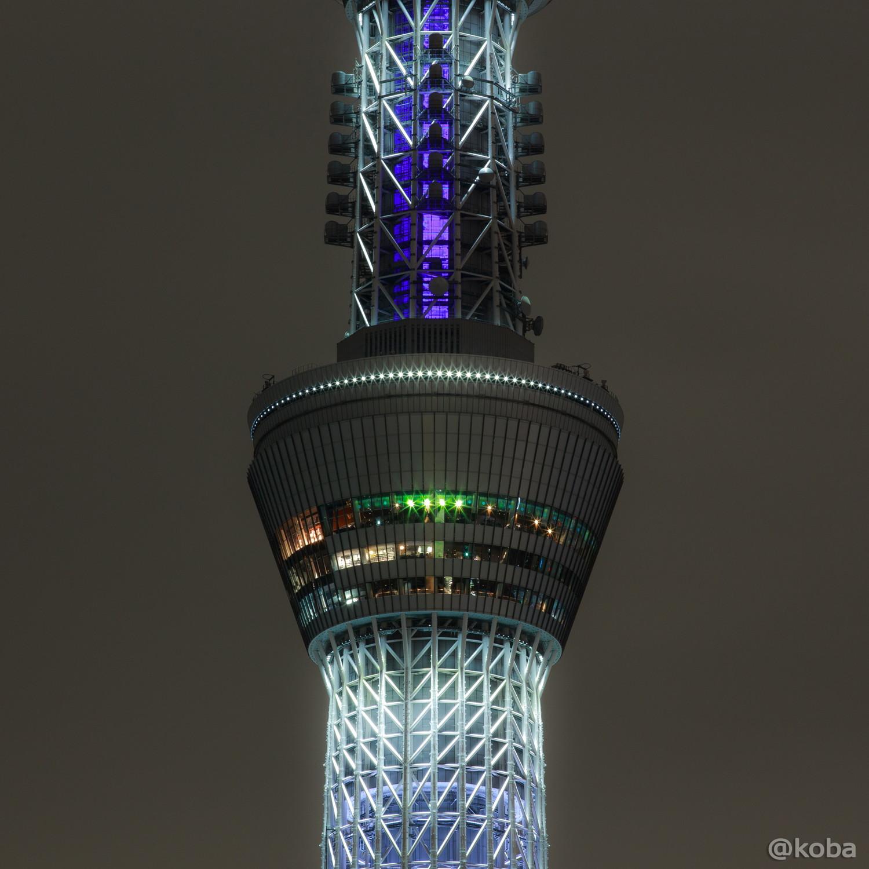 02東京スカイツリー「リオ五輪 日本国旗」桜橋 浅草側より EOS-6D