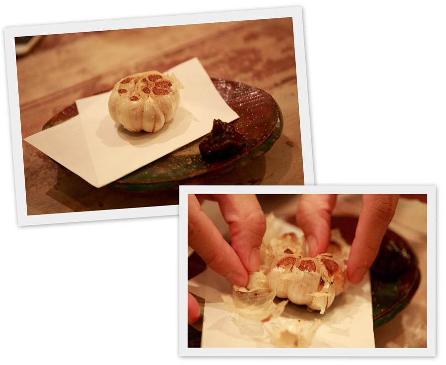 まるごと揚げにんにく ヨツギボシ 四つ木 沖縄料理