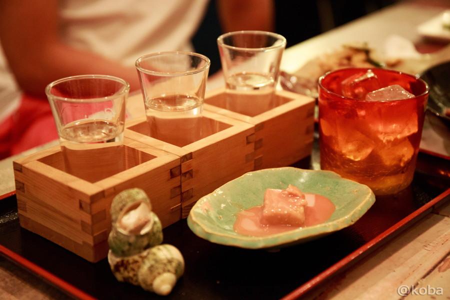 ヨツギボシ 利き酒セット(泡盛3種類と豆腐ようセット)