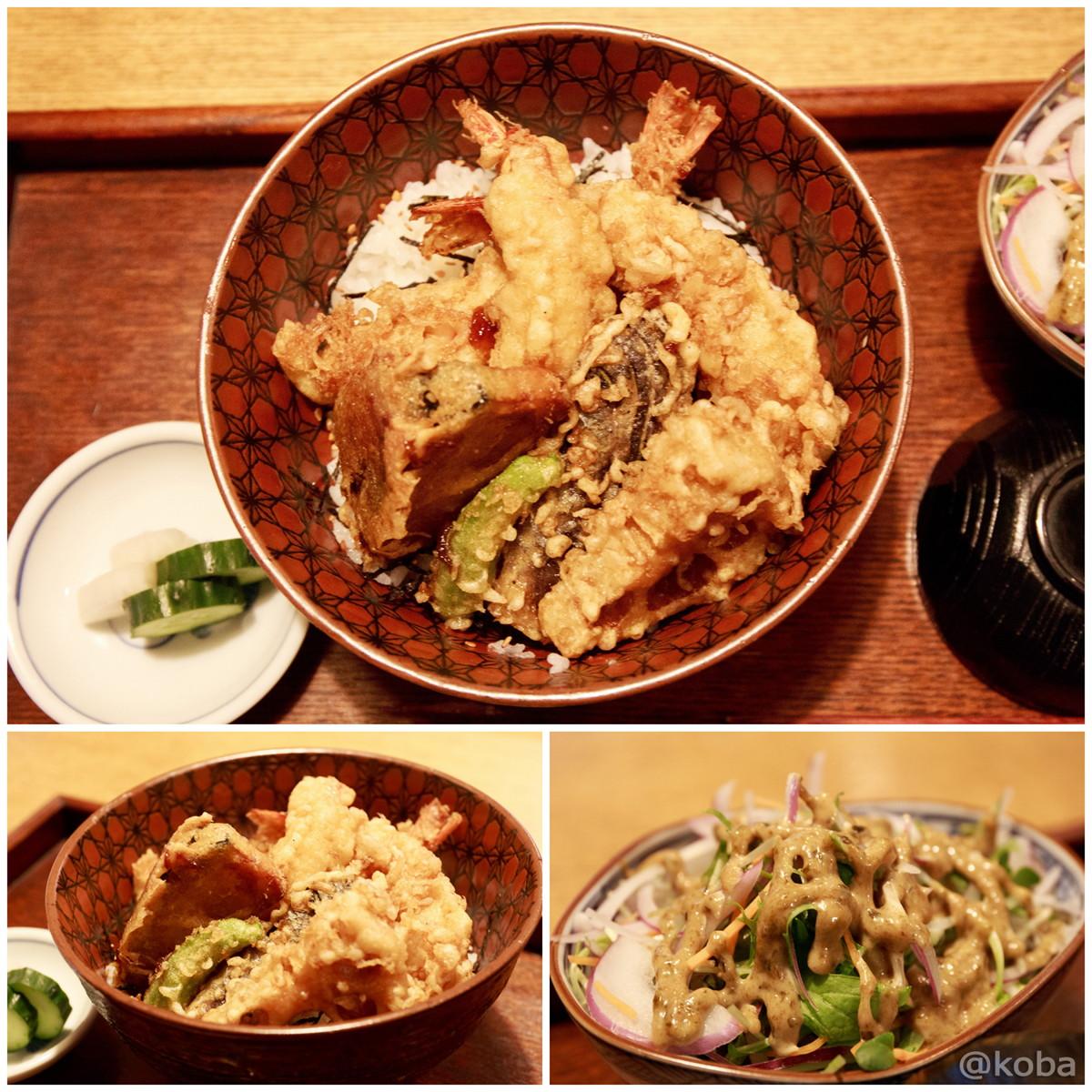 海老天丼 お昼ご飯 新小岩 割烹 小楽(こらく)