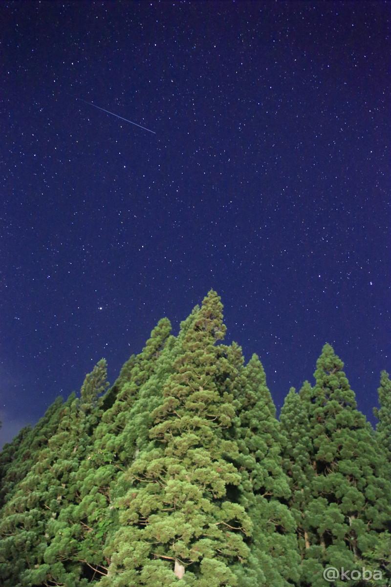 北海道のとある山の星空│こばフォトブログ