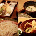 新小岩「天丼と 天ぷら稲庭うどん」 割烹 小楽(こらく) 和食ランチ