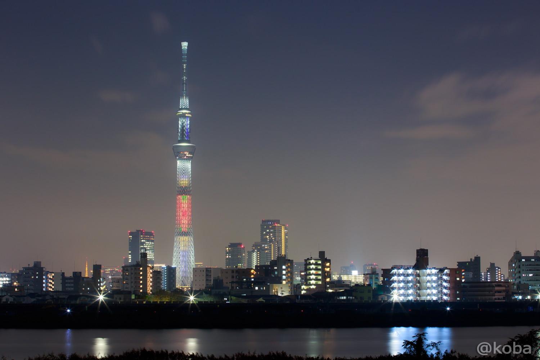 東京スカイツリー 「和食の日 ちらし寿司」葛飾区 四ツ木非難橋付近より│こばフォトブログ