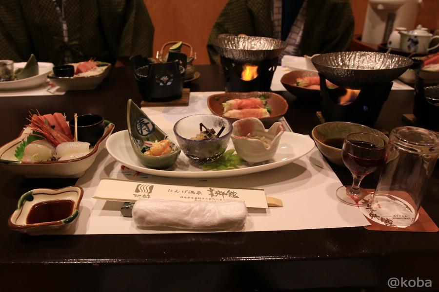 夕食 たんげ温泉 美郷館 群馬│こばフォトブログ