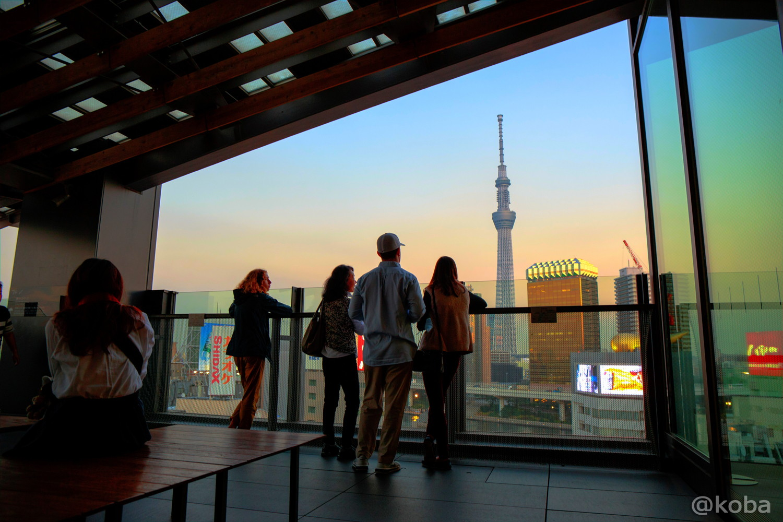 浅草文化観光センター 8F 展望テラス 東京スカイツリー こばフォトブログ