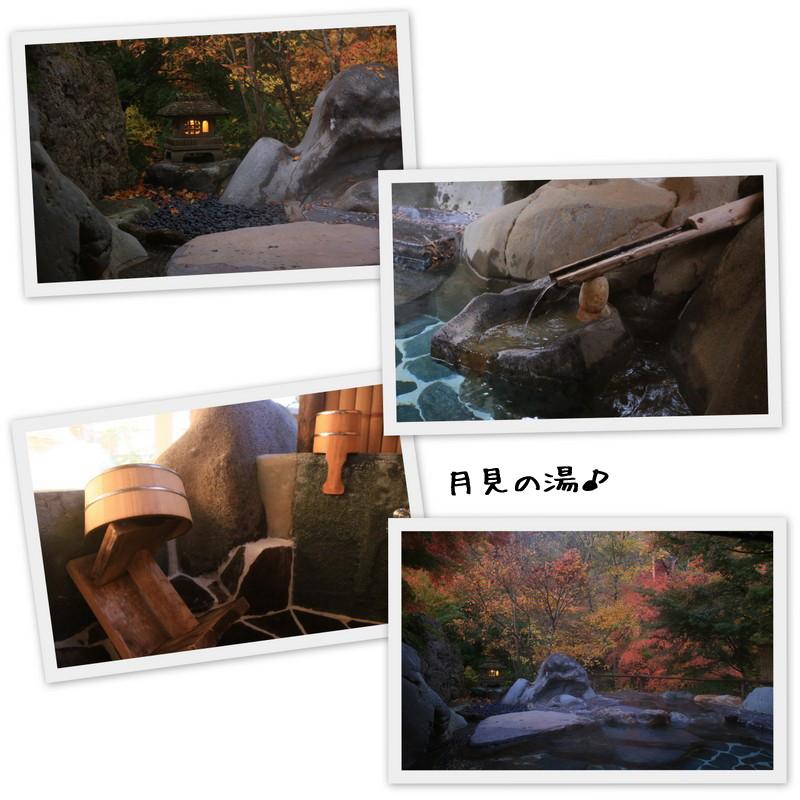 月見の湯 野天風呂岩造り たんげ温泉 美郷館 群馬│こばフォトブログ