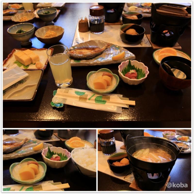 朝食 たんげ温泉 美郷館 群馬│こばフォトブログ