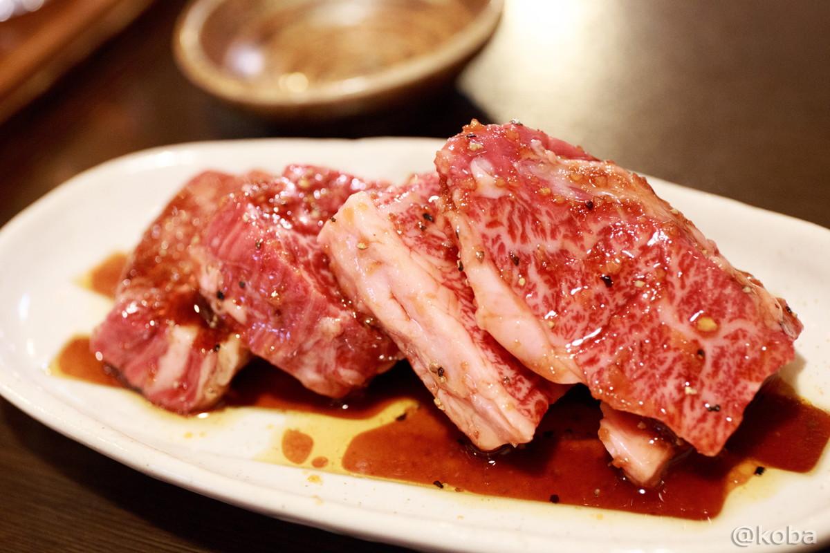 石垣牛ハラミ (横隔膜) 光沢が良い肉! 新小岩 ホルモン平田│こばフォトブログ