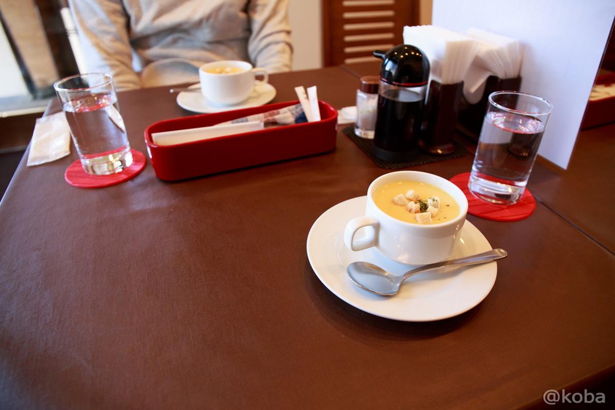 まずはコーンスープ 立石 洋食工房ヒロ│こばフォトブログ