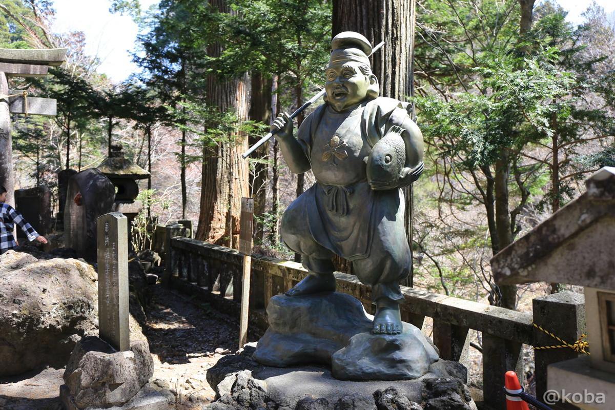 榛名神社 七福神 恵比寿 Ebisu: God of Development