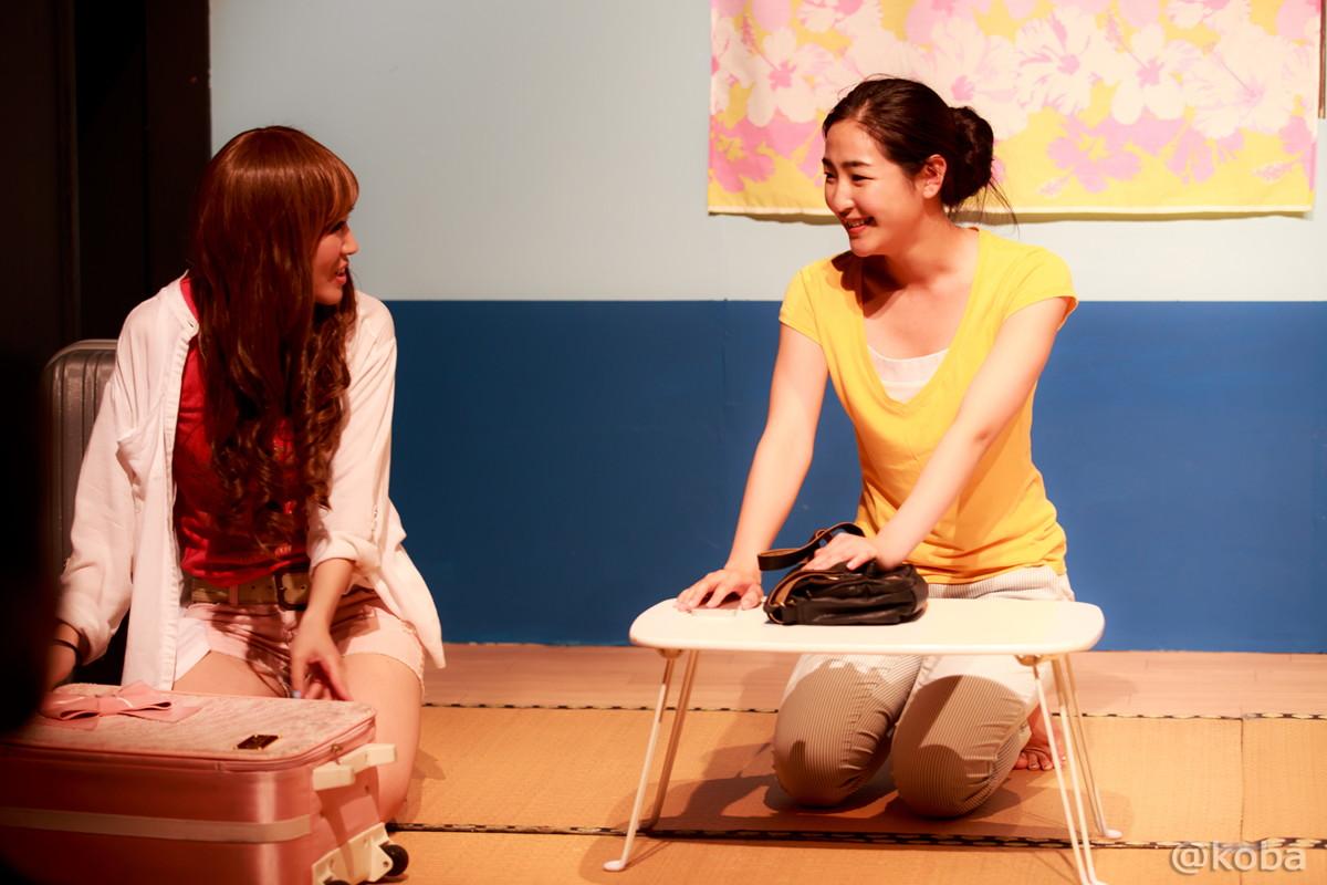 08劇団蝶能力第8回公演 田代美樹 鈴木花奈