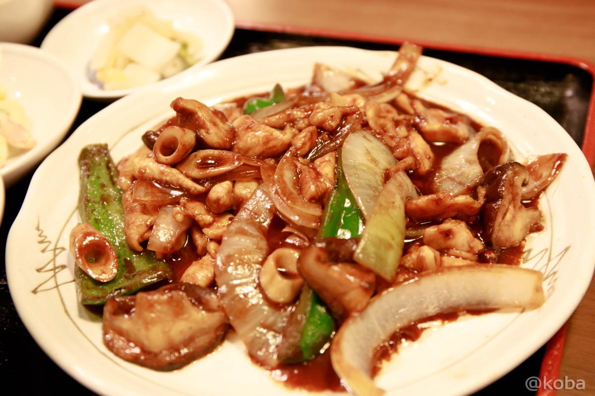 鶏肉の辛みそ炒め 920円 東京 新小岩 大三元(だいさんげん) 中華料理 中国料理│こばフォトブログ