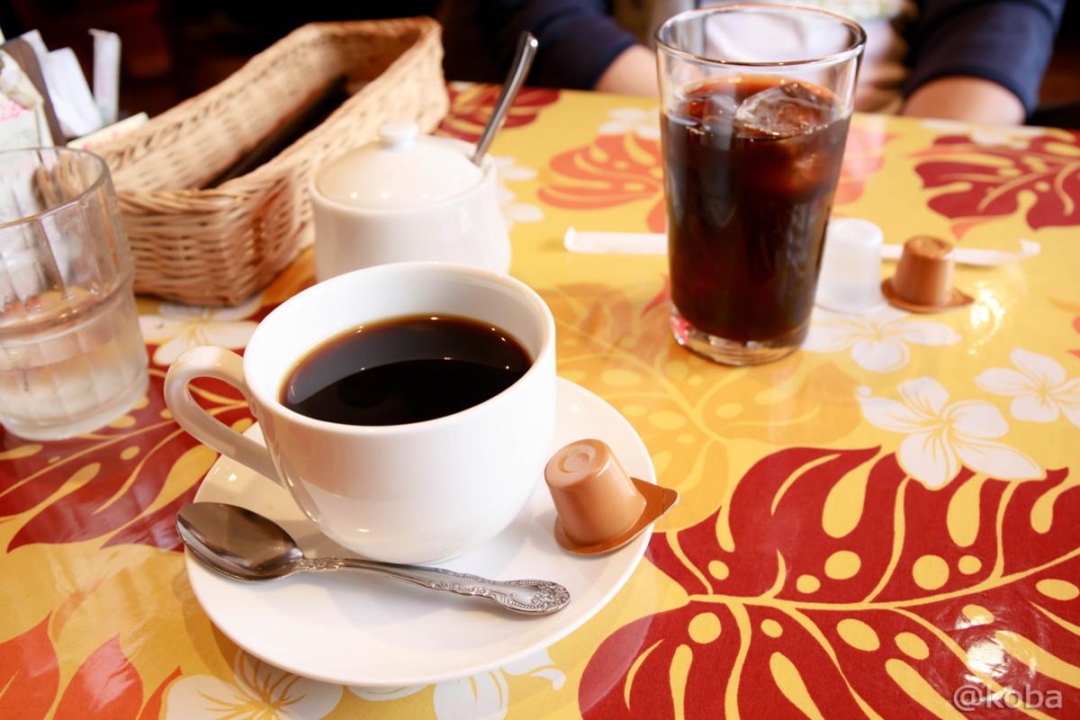 ホットコーヒー アイスコーヒー セットのドリンク 千葉 鎌ヶ谷 Coca(コカ) 生パスタ 手づくりピザ │こばフォトブログ