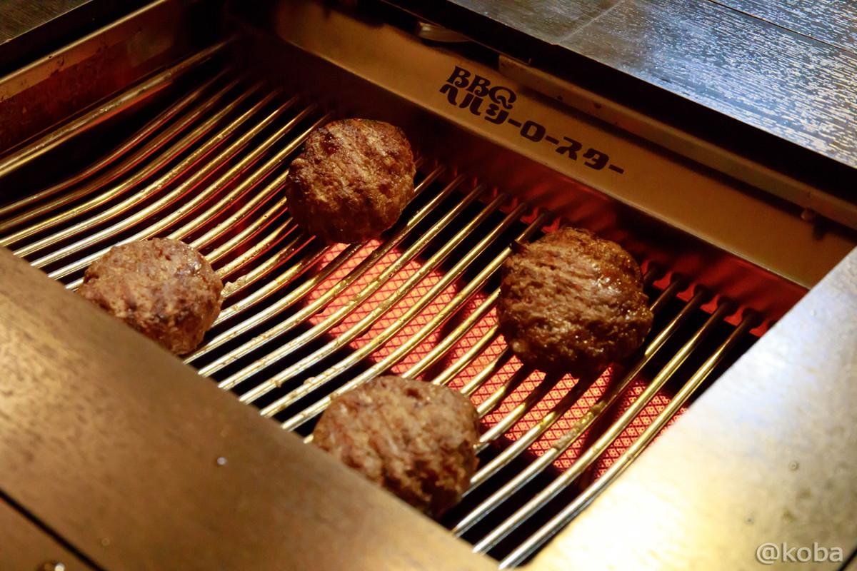 神戸牛特製ハンバーグ ハンバーグの焼き方 東京 小岩駅 焼肉市場2号店 森下精肉店 江戸親ビル│こばフォトブログ
