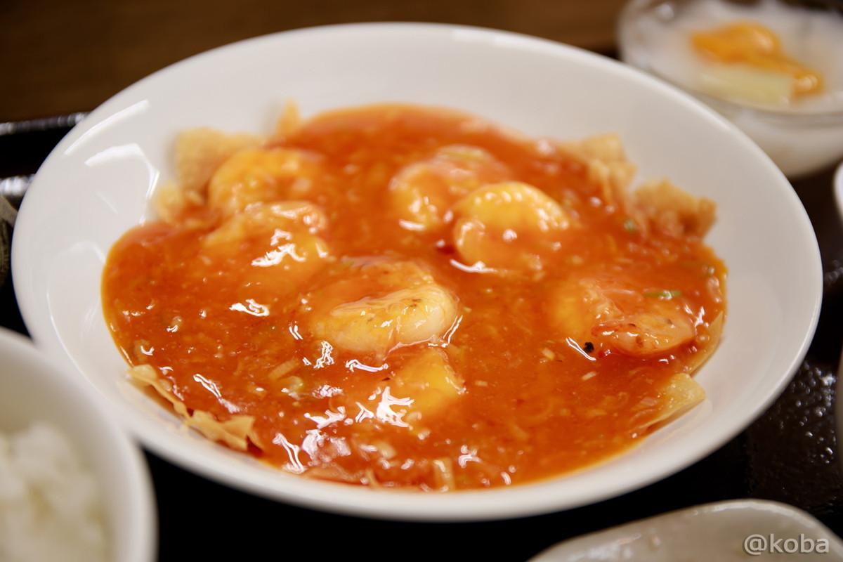 エビチリ 中華ランチ_東京 新小岩 中国料理 香河(コウガ) kouga Chinese cuisine