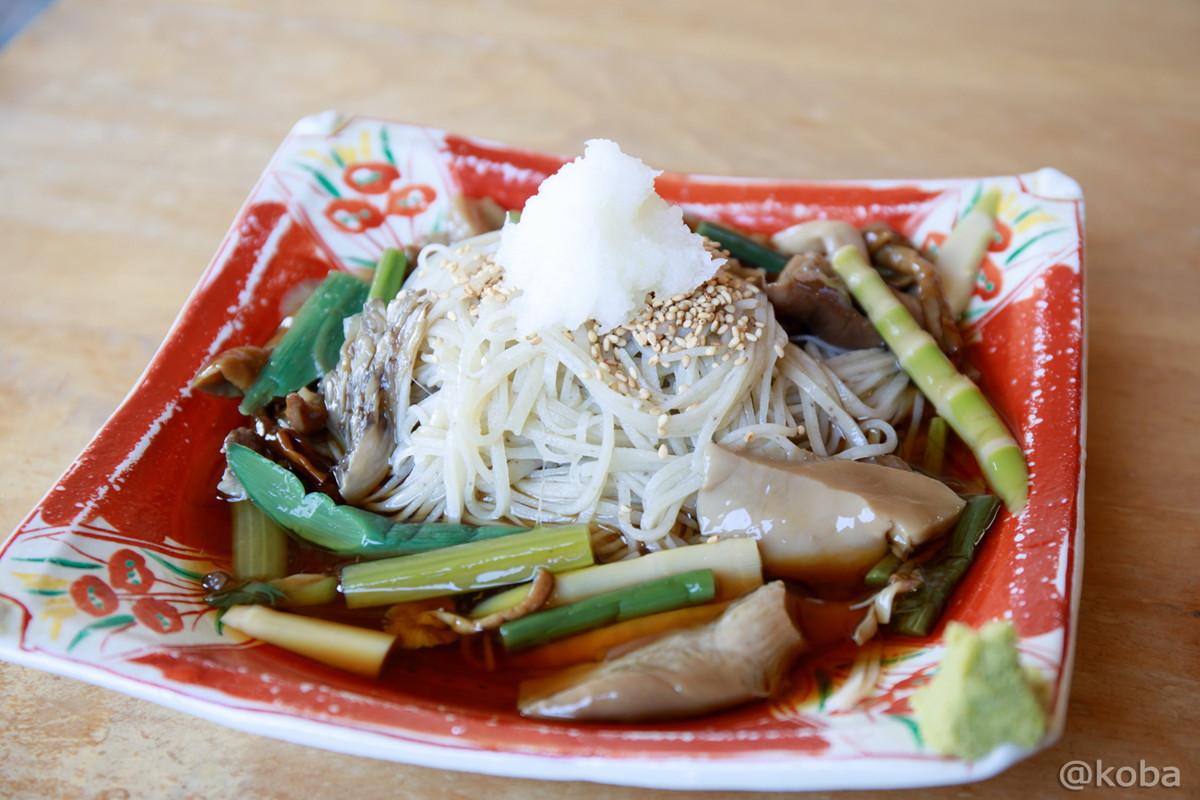 山菜きのこそば 950円 福島県郡山市 蕎麦家(そばや) ランチ