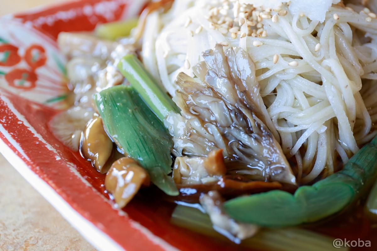 山菜きのこそば 胡麻とゴロッときのこも合う♪ 福島県郡山市 蕎麦家(そばや) ランチ