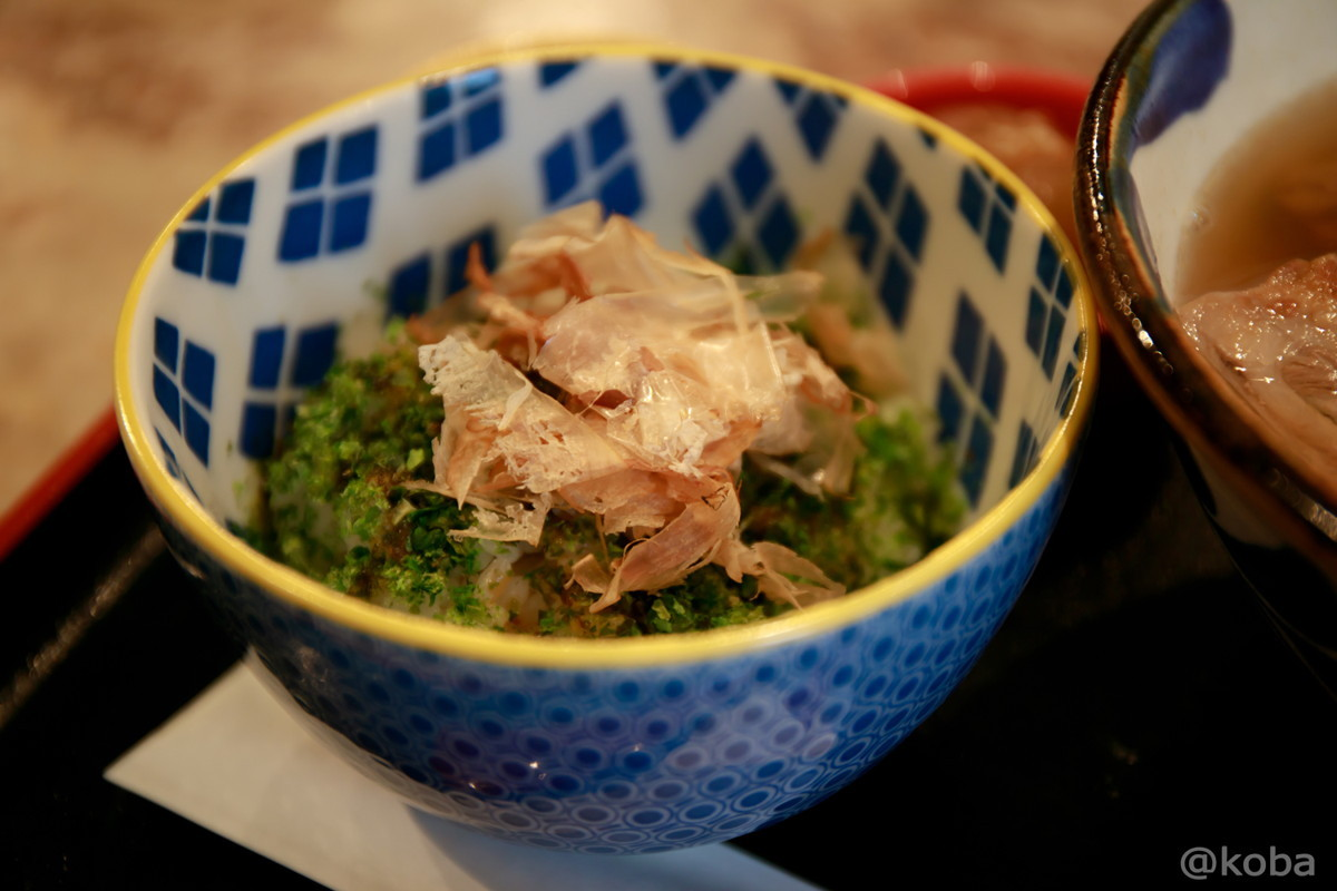 あおさめし ご飯_東京 東四ツ木 ヨツギボシ OKINAWA SOBA&BAR 沖縄料理