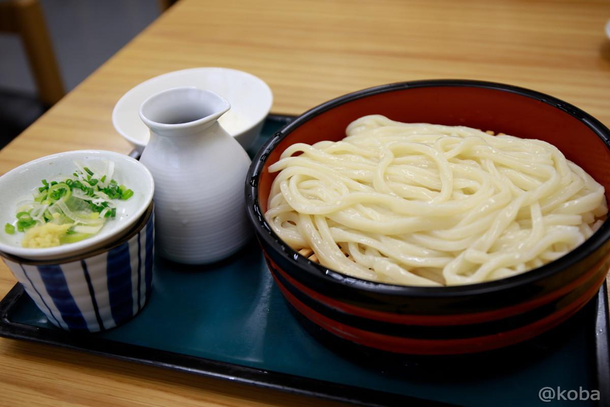 冷もり 350円 トッピングでとろろ+100円 お昼ご飯│東京 立石 四ツ木製麺所(よつぎせいめんじょ)うどんのお店