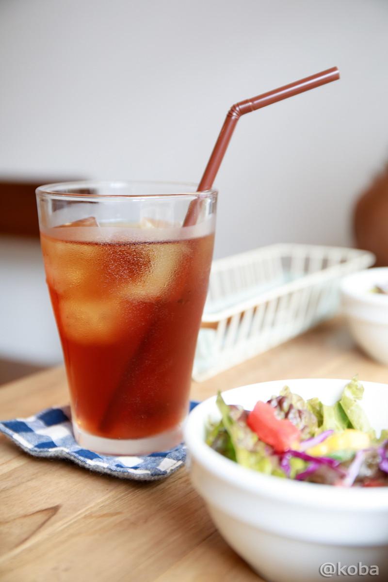セットのアイスティ│cafe マチノ木(まちのき)│カフェランチ│東京│新小岩ブログ