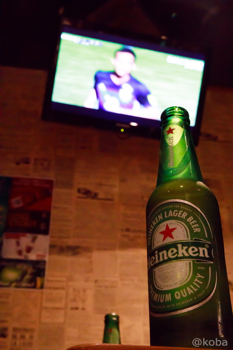ビールとモニター スポーツ観戦│TIAMO│カラオケ・スポーツBAR│東京│新小岩ブログ