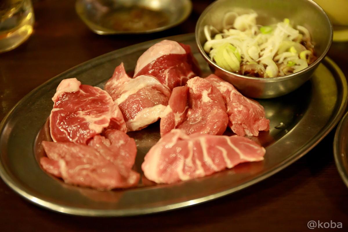 こめかみ(葫醤油) 500円│ホルモン青木 2号店│ホルモン・焼肉│東京│亀戸ブログ