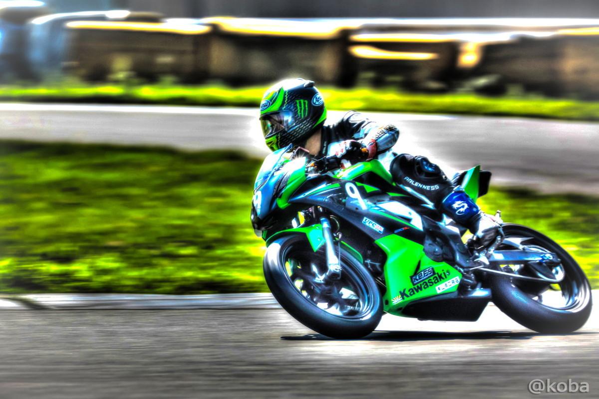 【茨城 つくば】筑波サーキット コース1000 ST250│HDR画像 乗り物 バイク│こばフォトブログ