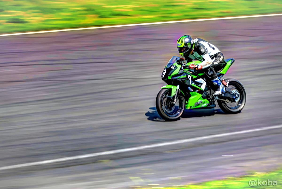 【茨城 つくば】筑波サーキット コース1000 ST250│HDR画像 乗り物 バイク│F値5.6 1/100秒 ISO-100│こばフォトブログ