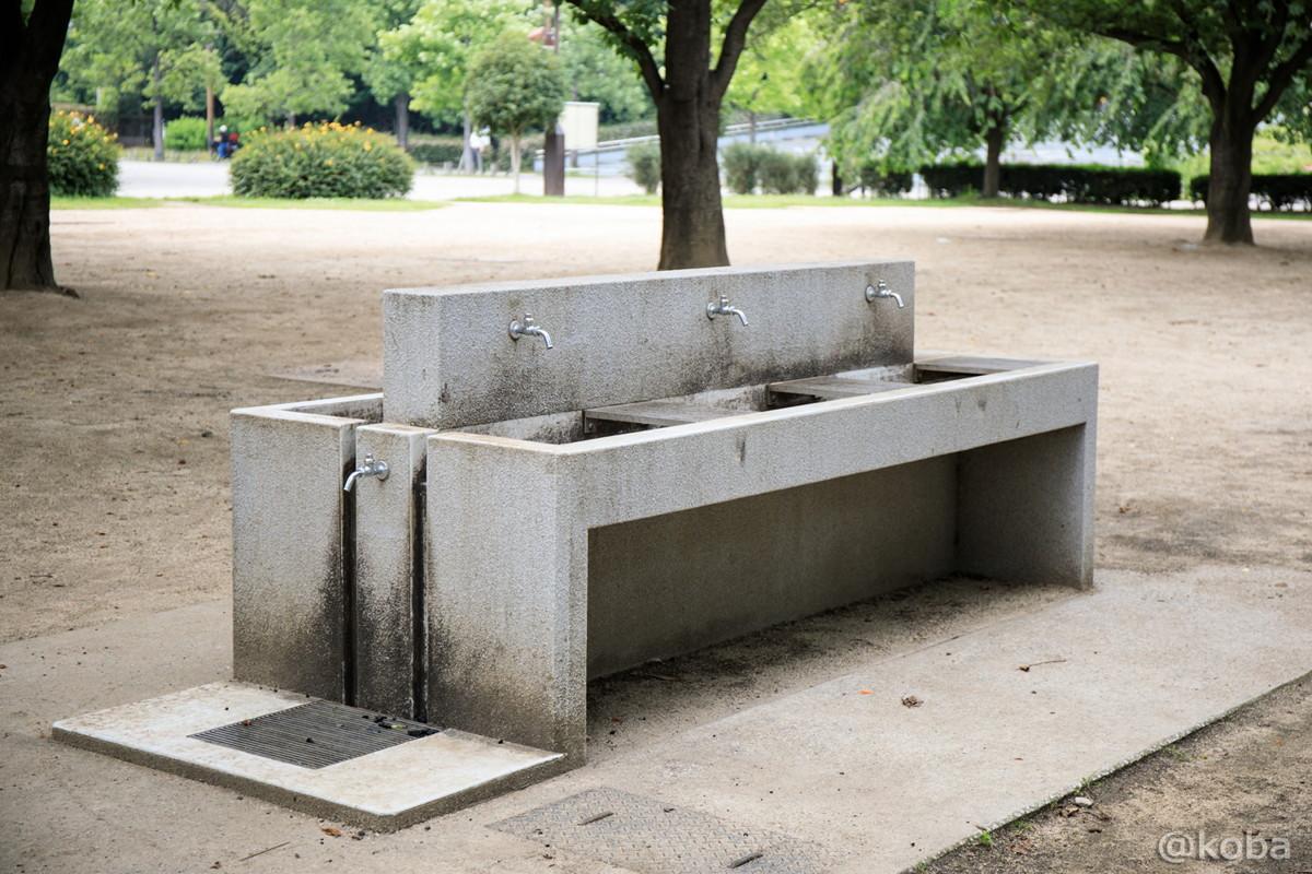 洗い場の写真│施設の写真│木場公園バーベキュー広場