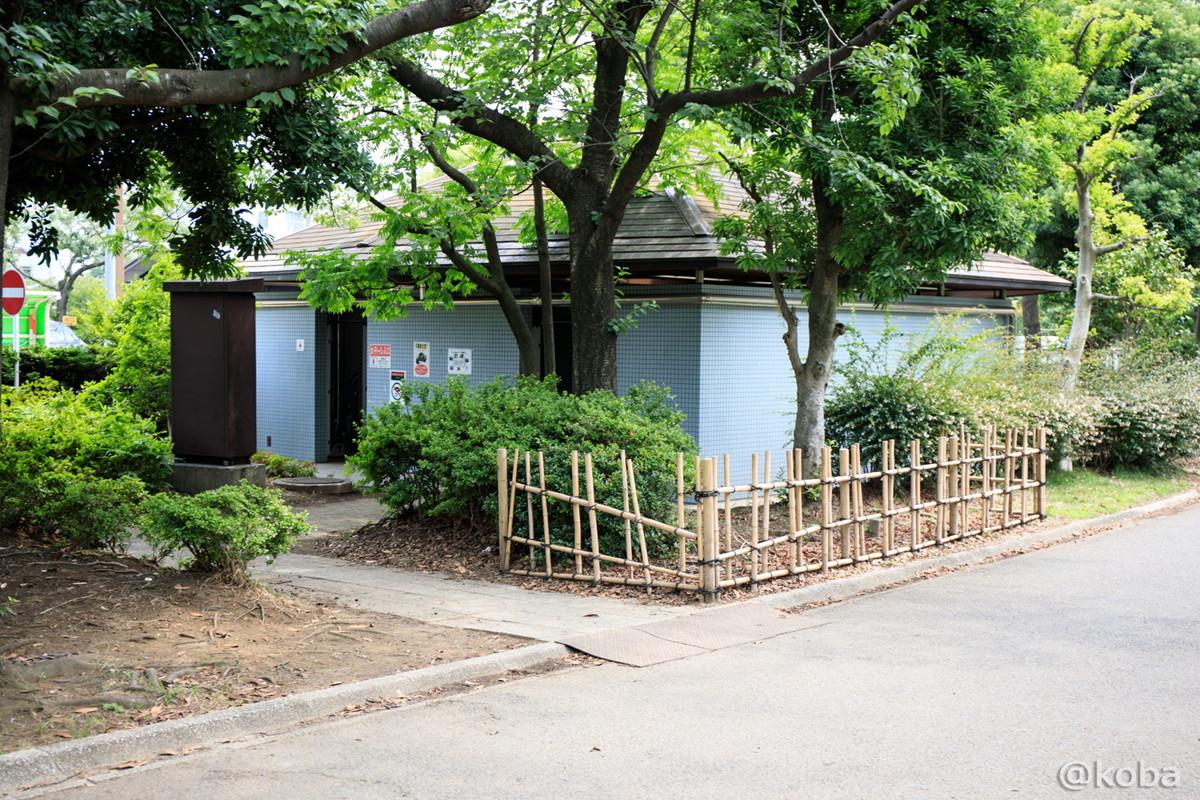トイレ│施設の写真│木場公園バーベキュー広場