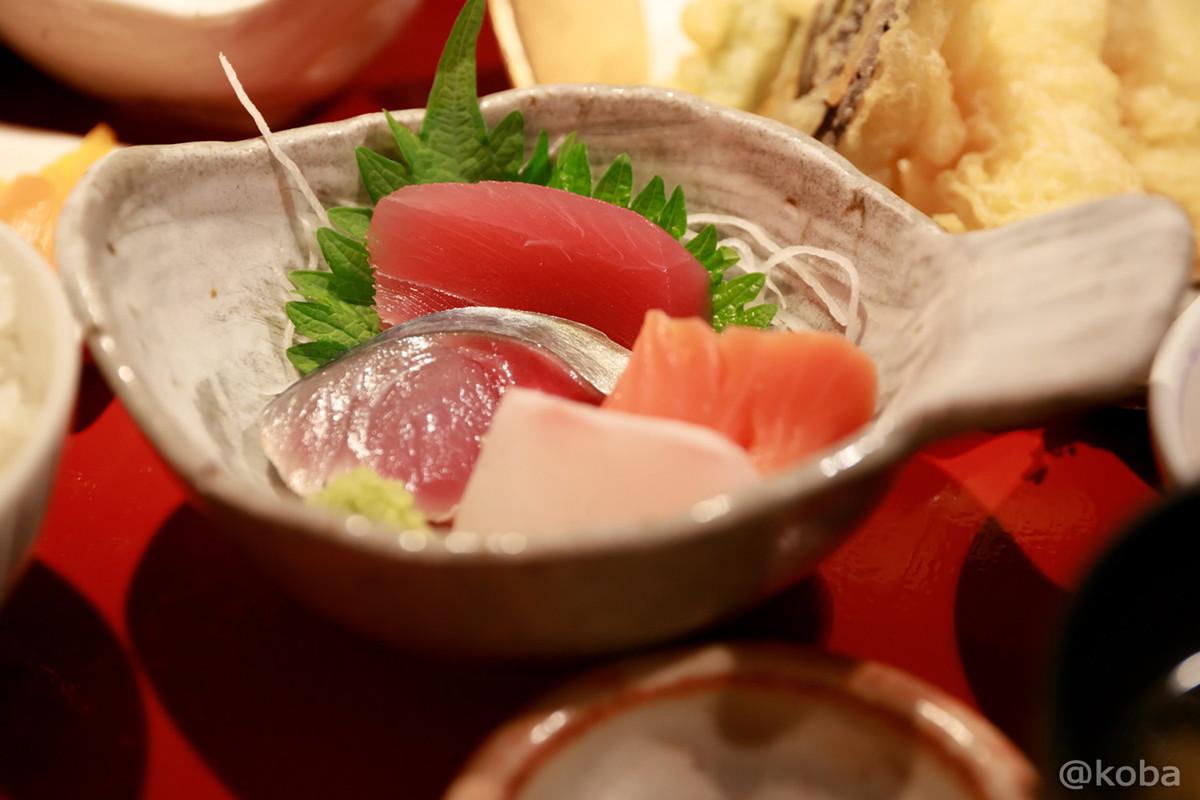 刺身(マグロ・サーモン・ハマチ・サバ)│福島(ふくしま)│和食ランチ│魚料理│東京オシャレなお店│新小岩ブログ